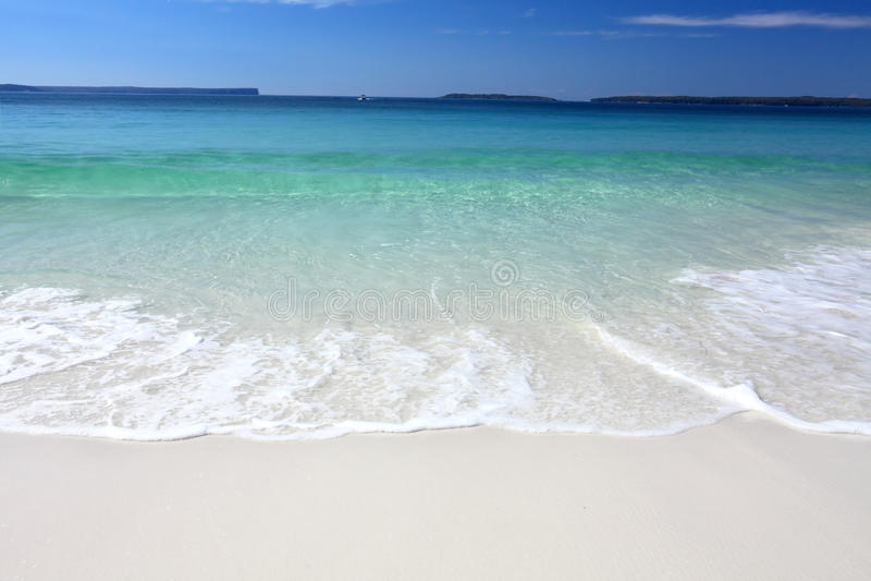 Fala na plaży fotografia royalty free