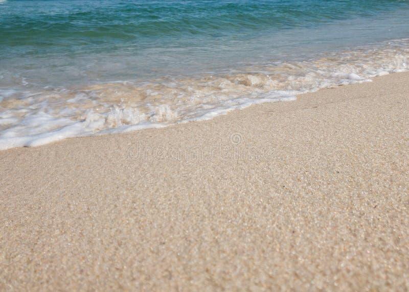Fala na seashore obrazy royalty free