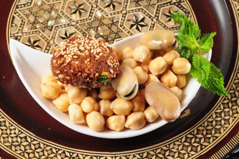 falafel royaltyfria bilder