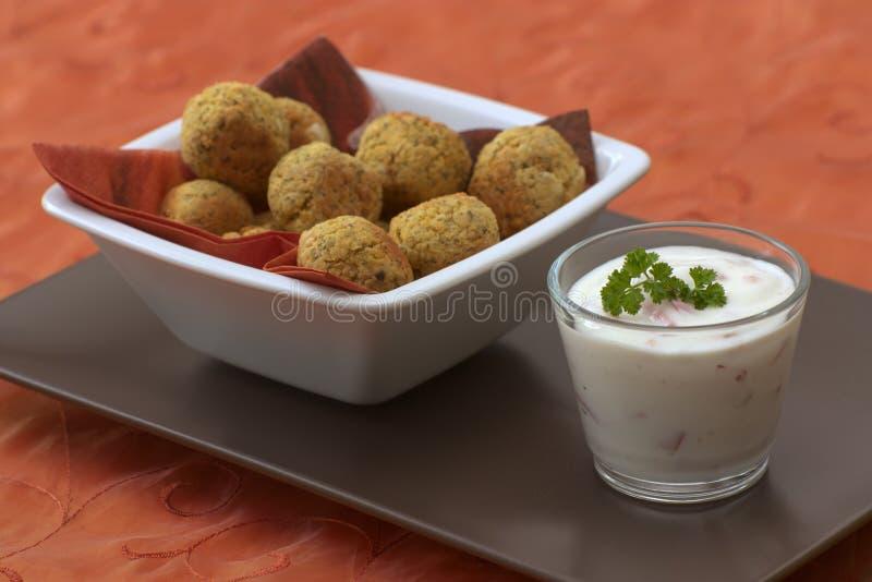 Falafel royalty-vrije stock foto
