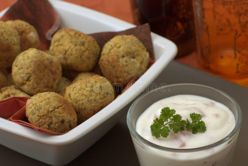 falafel στοκ εικόνα με δικαίωμα ελεύθερης χρήσης