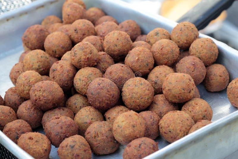 Falafel royaltyfria foton