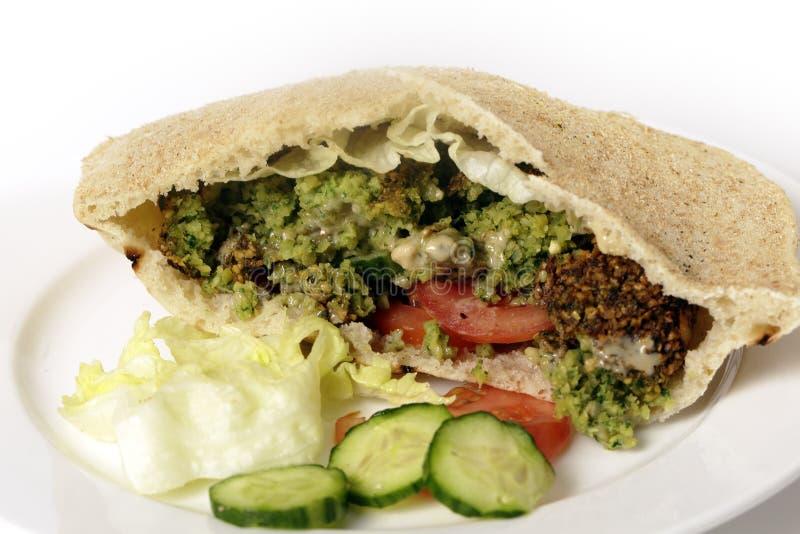 Download Falafel Chickpea Balls Salad Sandwich Stock Image - Image: 37106963