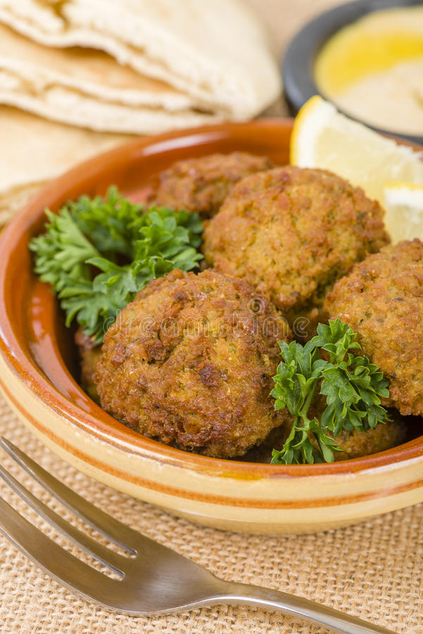 Download Falafel stock image. Image of chickpea, ifar, culinary - 36182781