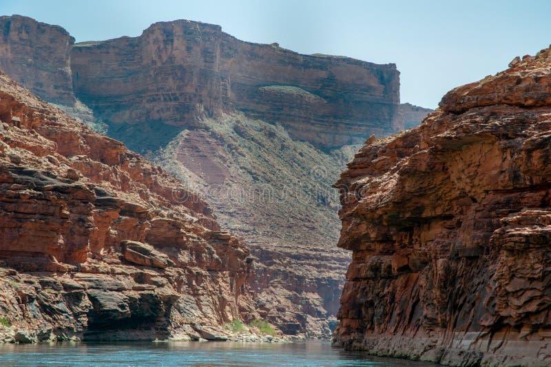 Falaises de marbre de canyon photo libre de droits