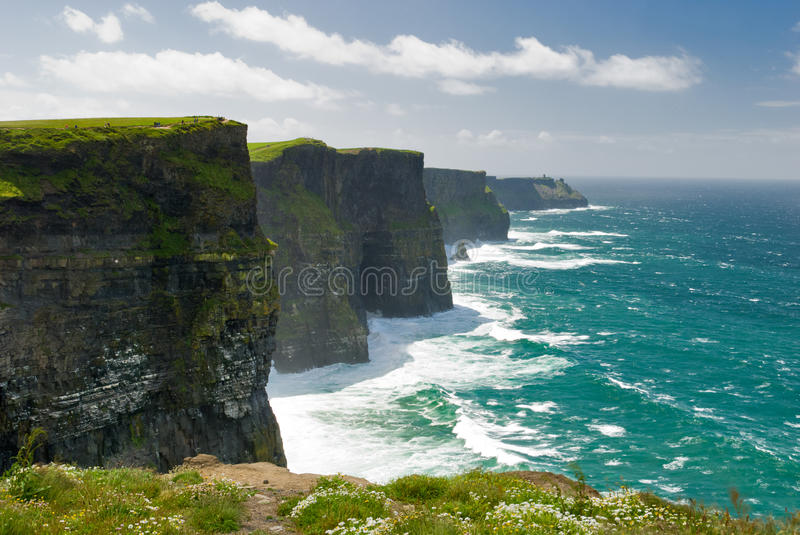 Falaises de Moher photos stock