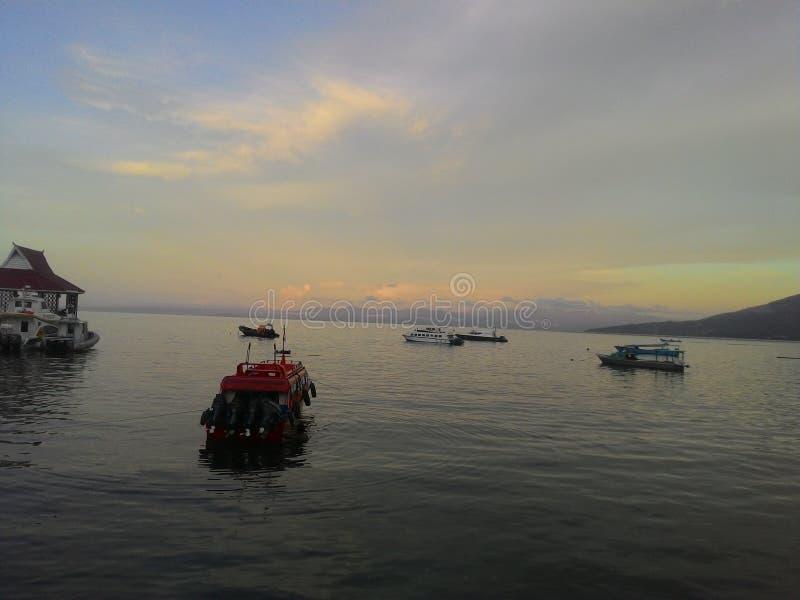 Falajawa海滩 图库摄影