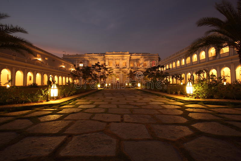 Falaknuma Palast, Hyderabad stockbilder
