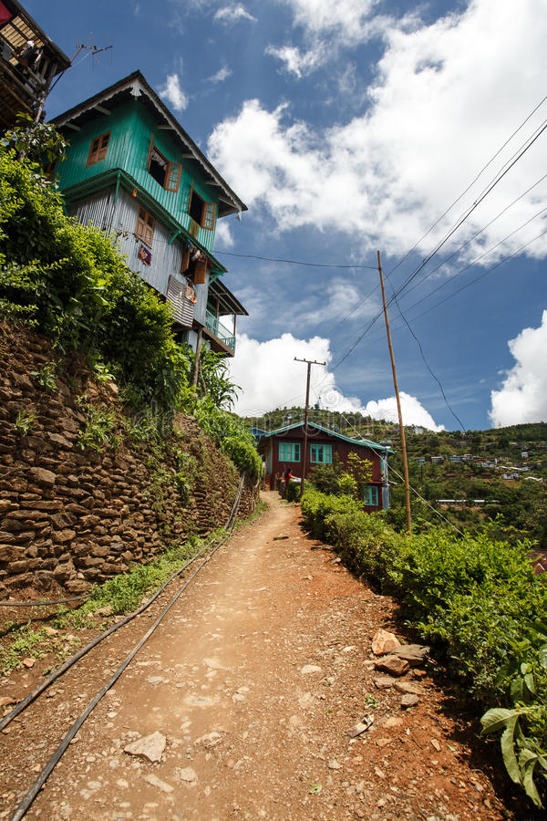 Falam,缅甸(缅甸) 免版税库存照片