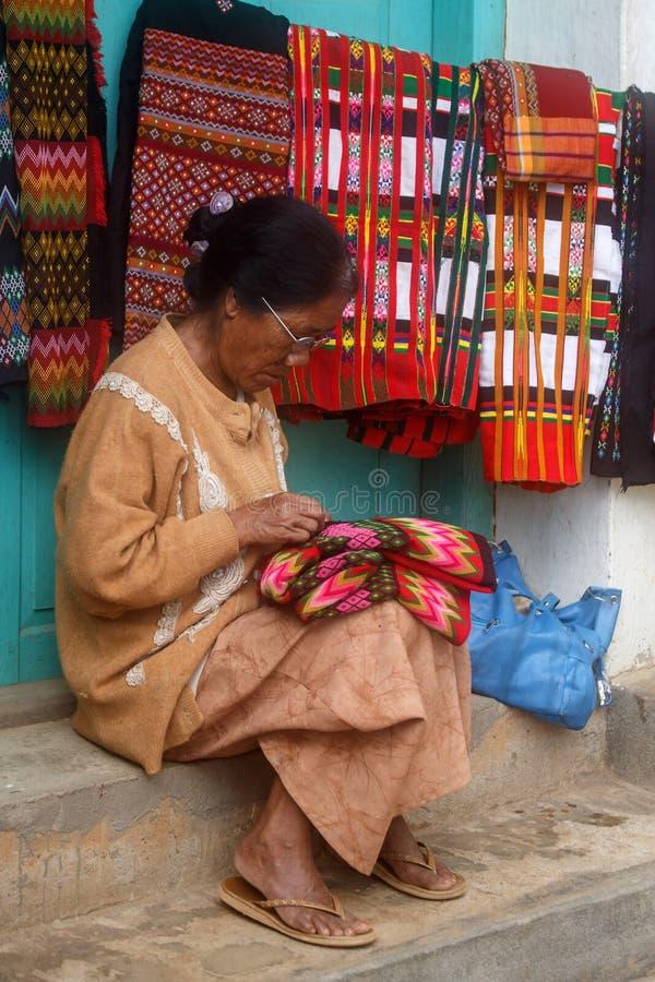 Falam,缅甸(缅甸) 库存图片