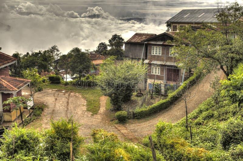Falam,钦邦,缅甸 免版税库存图片