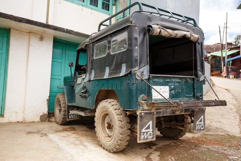 Falam, Myanmar (Birmania) imágenes de archivo libres de regalías