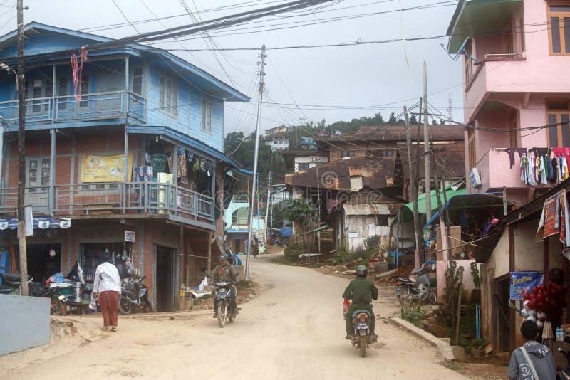 Falam, Myanmar (Burma) royalty free stock images