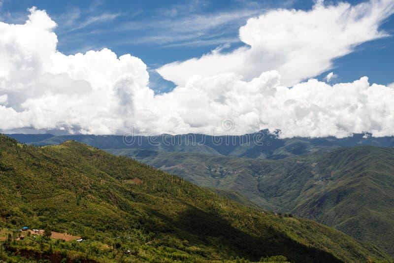 Falam, Myanmar (Burma). Falam Town , Chin State Mountain Region, Western Myanmar (Burma royalty free stock images