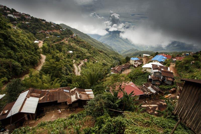 Falam, Myanmar (Burma). Falam Town , Chin State Mountain Region, Western Myanmar (Burma royalty free stock photography