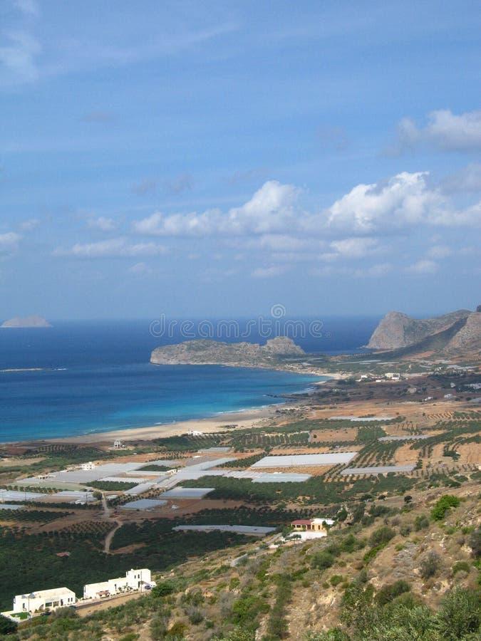 Download Falasarna beach stock photo. Image of hill, mountain, empty - 1623122