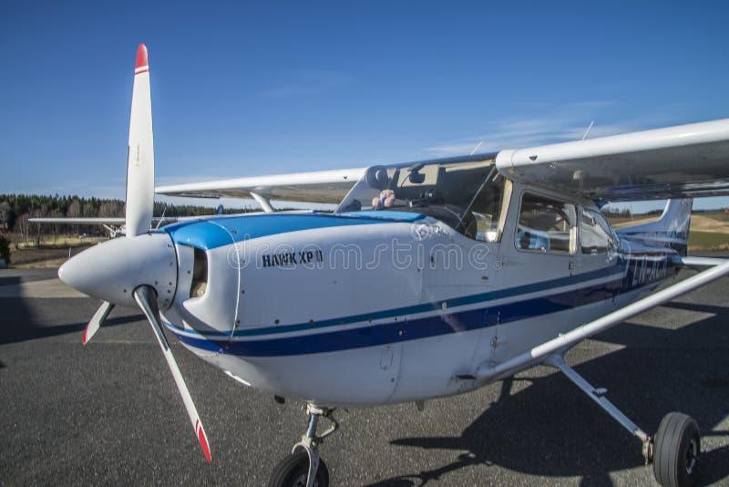 Falcão XP II LN-ACA de Cessna imagens de stock