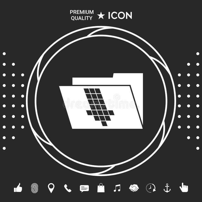 Falcówka puszka strzała ikona Graficzni elementy dla twój designt royalty ilustracja