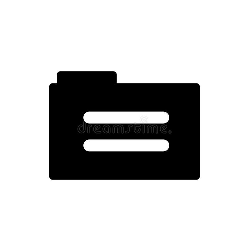 Falcówka wypełniający ikona wektoru znak, narzędziowy symbol odizolowywający na białym tle i, falcówka wypełniający narzędziowy l ilustracji