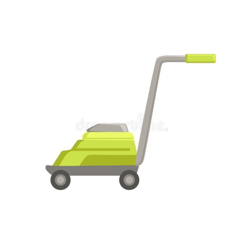 Falciatrice da giardino verde illustrazione di stock