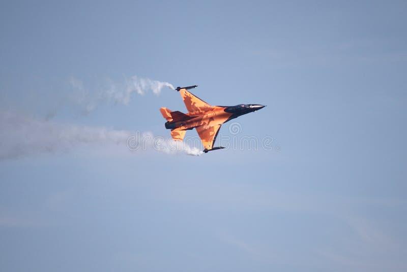 Falco di caccia F-16 fotografia stock libera da diritti