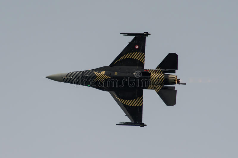 Falco di combattimento del F16 di Soloturk fotografie stock