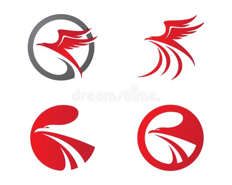 falco logo template illustrazione vettoriale immagine