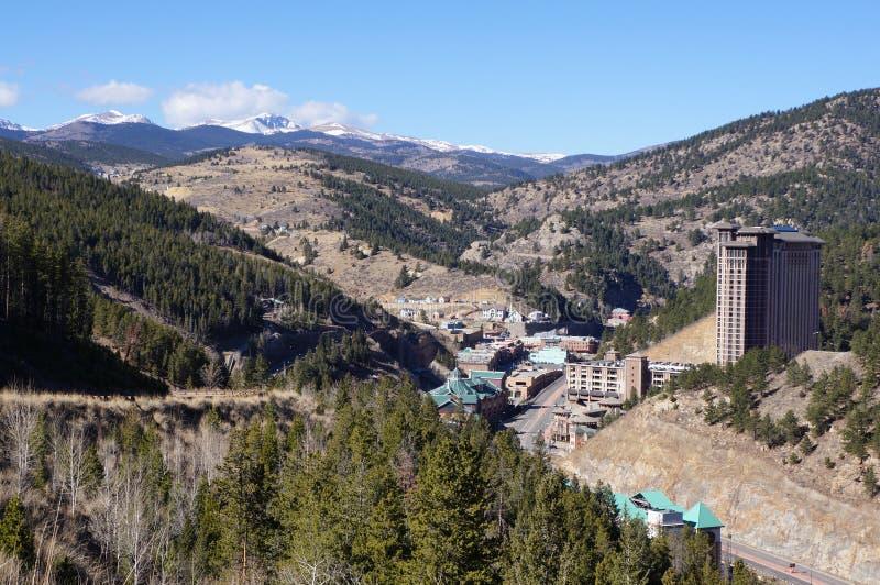 Falco nero Colorado immagine stock libera da diritti