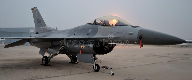Falco/vipera di combattimento F-16 fotografia stock
