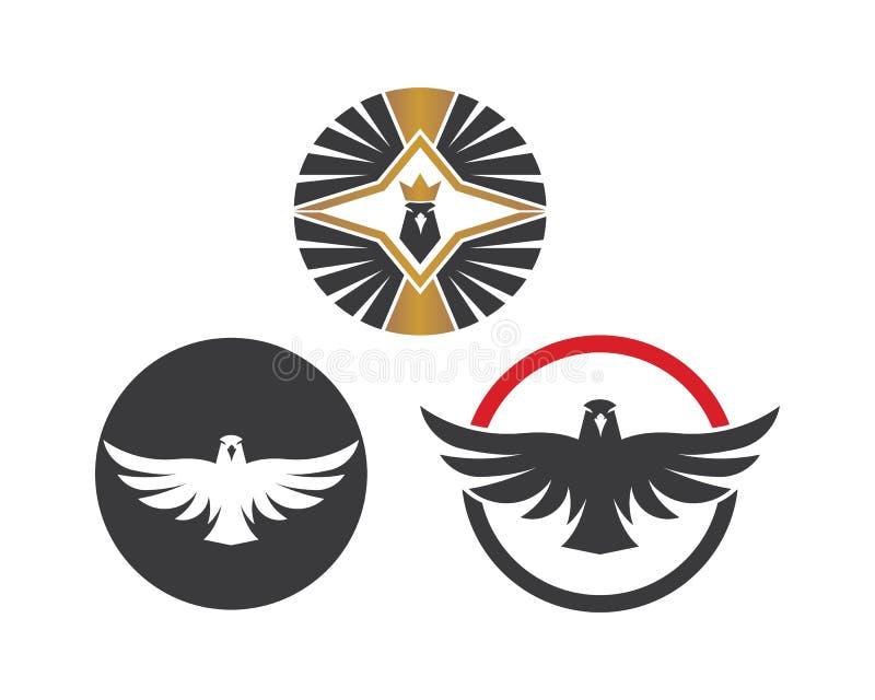 falcon,eagle logo icon vector illustration design vector illustration
