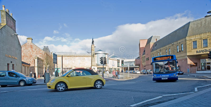 Download Falcon Square Inverness. Editorial Photography - Image: 23843492