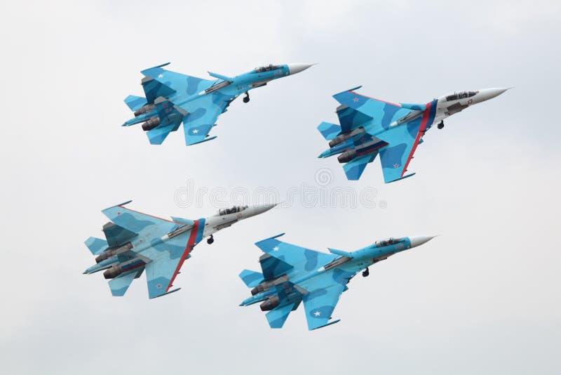 Falcons de Rusia fotos de archivo