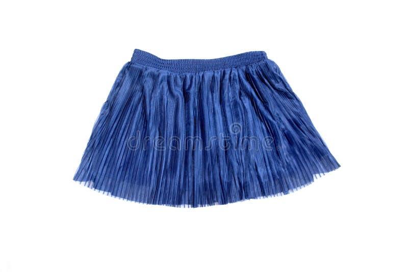Falda azul fotos de archivo libres de regalías