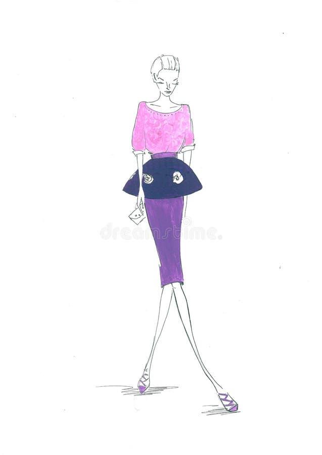 Falda clásica imagen de archivo