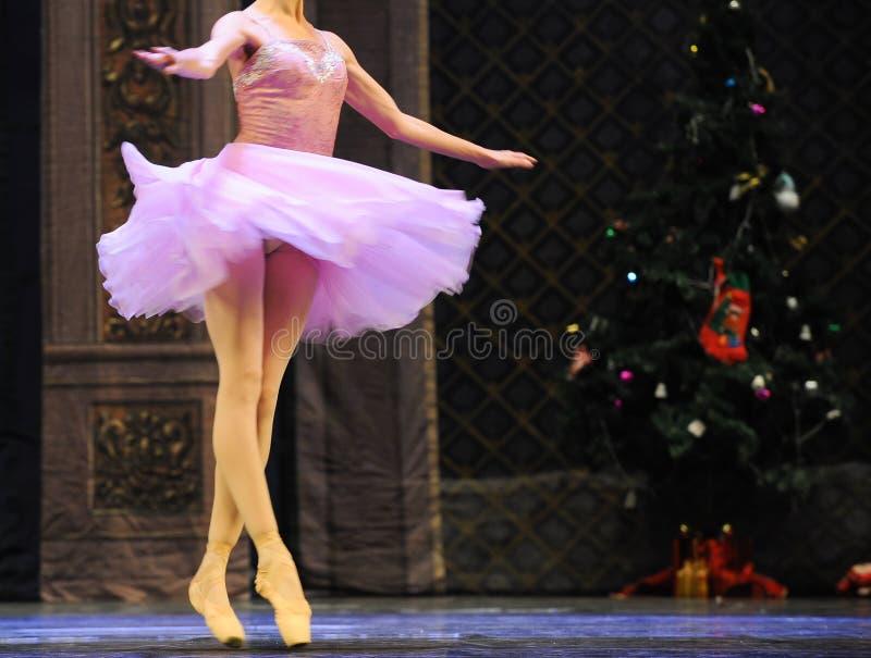Falda de ballet fotografía de archivo libre de regalías