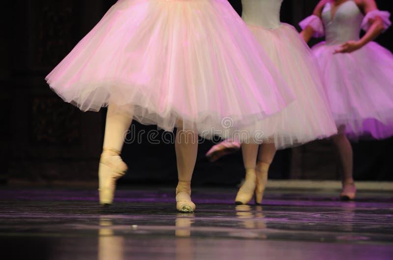 Falda de ballet foto de archivo libre de regalías