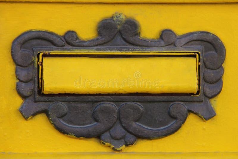 Falda della cassetta delle lettere fotografie stock libere da diritti
