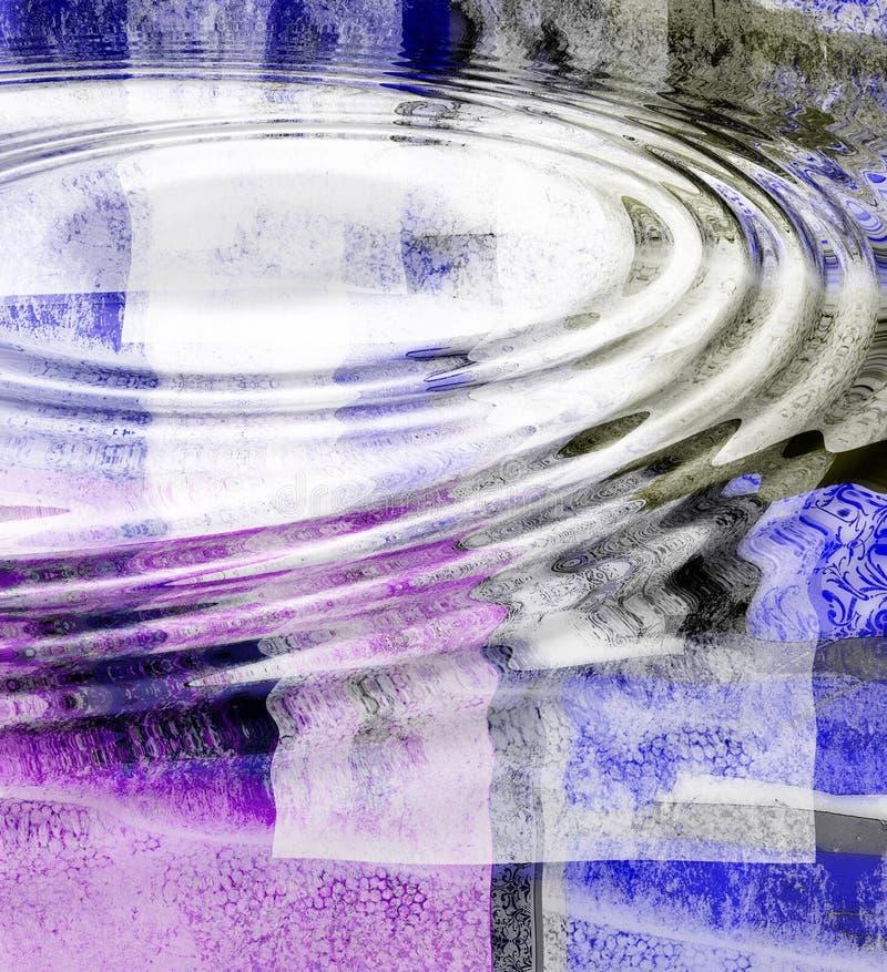 fale abstrakcyjna wody. ilustracja wektor