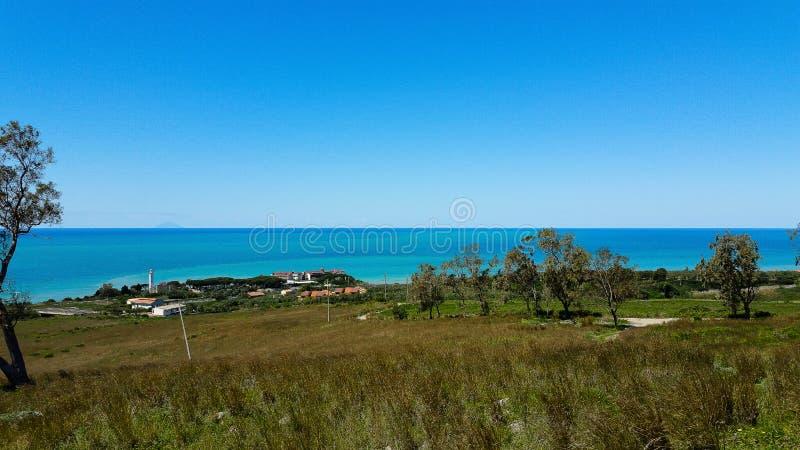 Falerna - la Calabria - l'Italia immagini stock