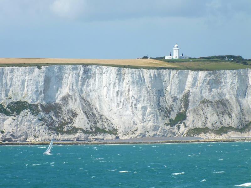 falez Dover biel obrazy stock