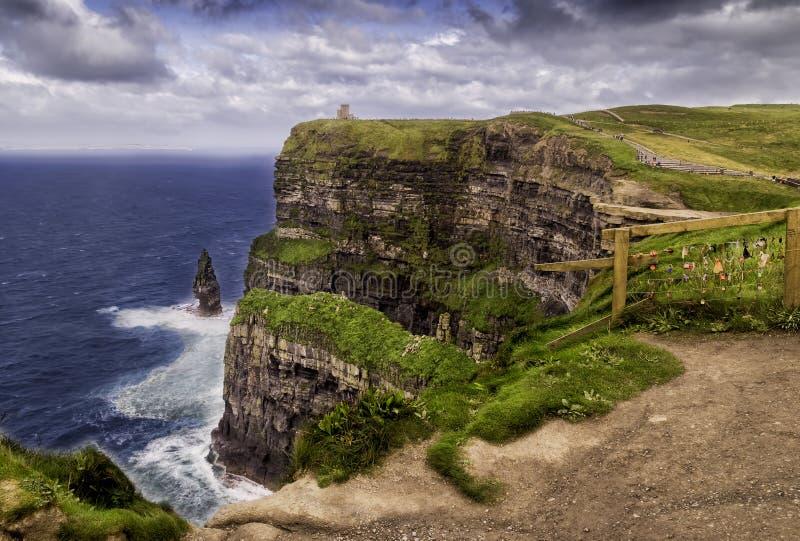falez Ireland moher zdjęcie stock