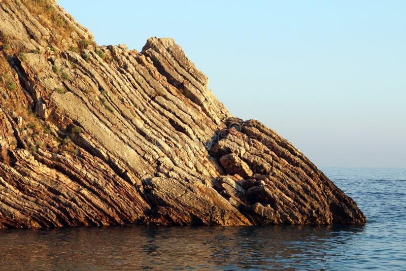 Faleza na morzu zdjęcie royalty free