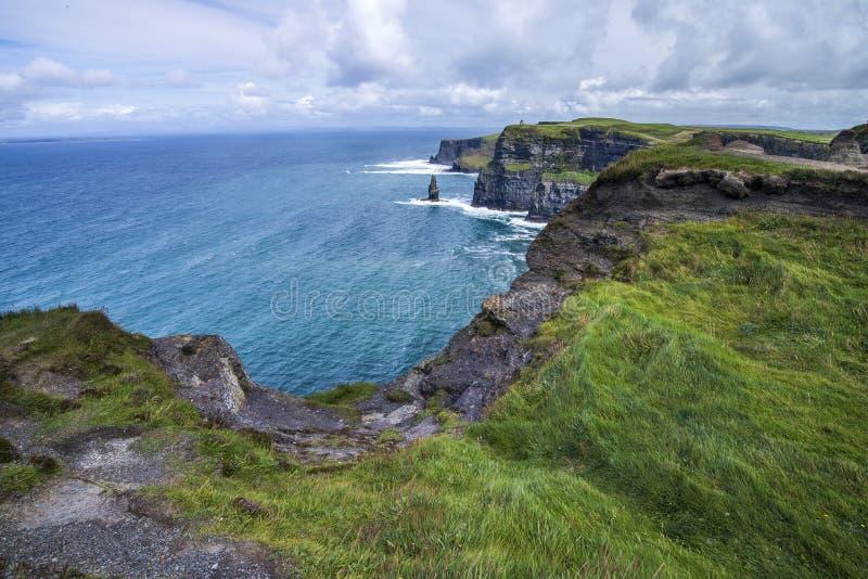 Falezy i ocean zdjęcie royalty free