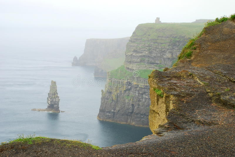 Falezy Moher. Co. Clare. Irlandia obrazy royalty free