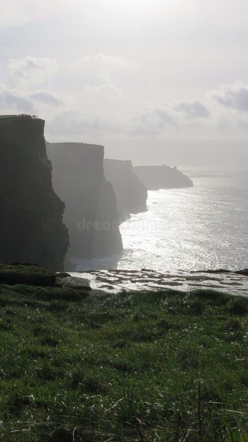 Falezy Moher, okręg administracyjny Clare, Zachodni Irlandia obrazy royalty free