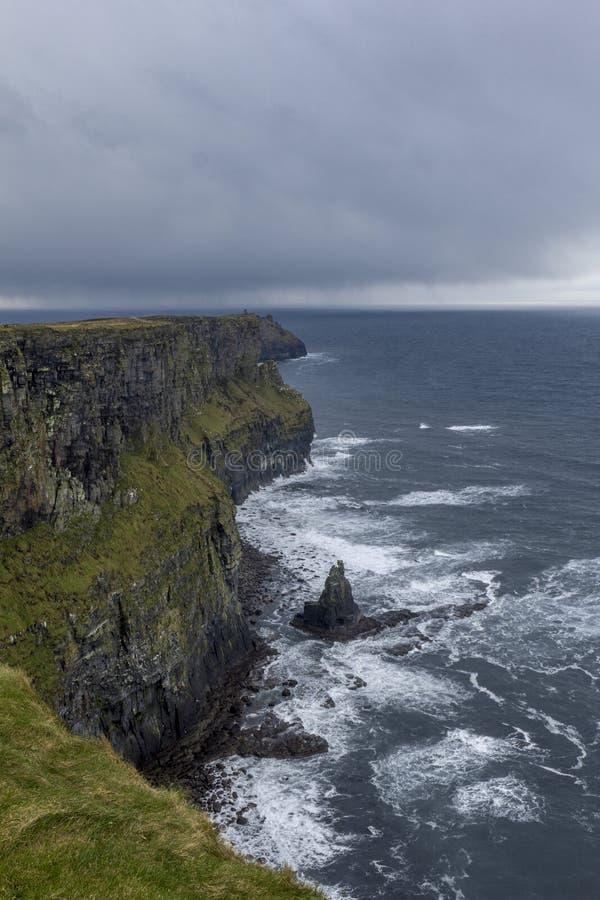 Falezy Moher w Irlandia fotografia royalty free