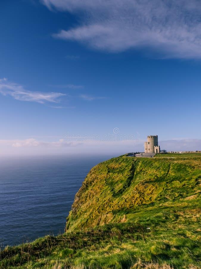 Falezy Moher w okręgu administracyjnym Clare zdjęcie royalty free