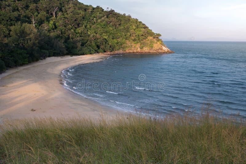 Falezy plaża zdjęcie stock