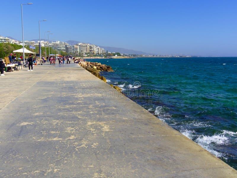 04/29/2019, Faliro, Atene, Grecia fotografia stock libera da diritti