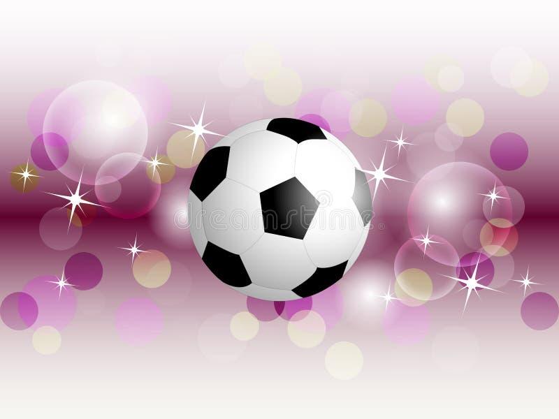 falista balowa tło piłka nożna ilustracja wektor